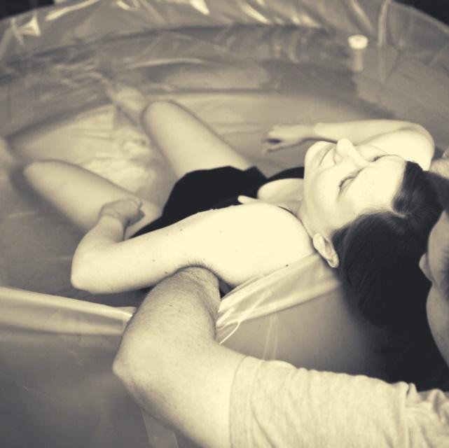 Porodní bazének