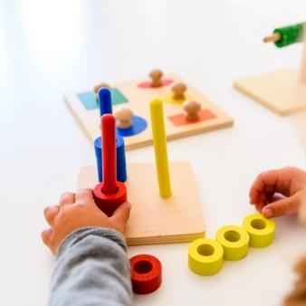Montessori dílnička 10 měsíců - 3 roky